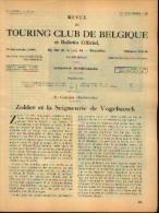Dans « Touring  Club De Belgique» 01/11/1935 : « ZOLDER Et La Seigneurie De VOGELSANCK» - Kranten