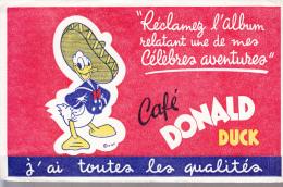 Buvard 21x14 Cm   Disney Donald  Cafe Donald Duck - Altri