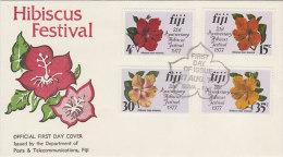 Fiji 1977 Hibiscus Festival FDC - Fiji (1970-...)