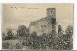 MAREUIL S LAY  VIEILLE EGLISE  DE DISSAIS  GROS PLAN - Mareuil Sur Lay Dissais