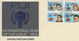 Fiji 1979 International Year Of The Child FDC - Fiji (1970-...)