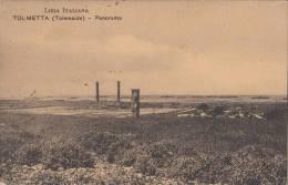 1918 COLONIE ITALIANE - TOLMETTA PANORAMA - - Libye