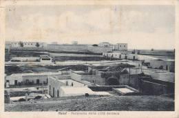 1934 COLONIE ITALIANE - LIBIA - NALUT - PANORAMA DELLA CITTA' BERBERA - Libye