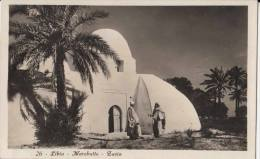 1932 COLONIE ITALIANE - LIBIA - MARABUTTO - ZAVIA - ED. VITTORIO AULA - Libye