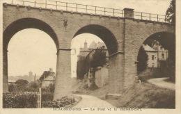 Ecaussinnes - Le Pont Et Le Château-fort  - 1939 ( Voir Verso ) - Ecaussinnes