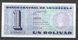 VENEZUELA . BILLET DE 1 BOLIVAR . - Venezuela