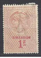 TIMBRE  DE DIMENSION 1F OBL TTB - Fiscaux