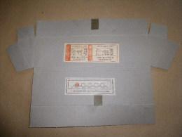 Emballage En Carton Pour Munitions Du Fusil Mitrailleur AA 52 Daté 1964. - Equipement