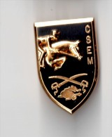 Insigne CSEM   Centre Sportif D´Equitation Militaire, Relief - J BALME SAUMUR G 2422 - Esercito