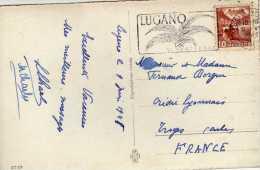 731 - Postal Lugano 1948 Suiza - Schweiz