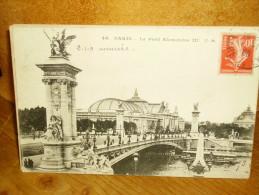 CPA PARIS LE PONT ALEXANDRE III (2) - Ponts