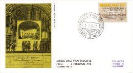 PAYS-BAS. N°1034 Sur Enveloppe 1er Jour (FDC) De 1976. Loterie. - Giochi