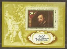 PINTURA - RUSIA 1977 - Yvert #H117 - MNH ** - Rubens