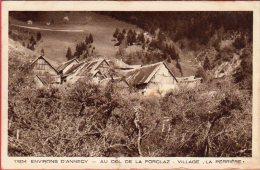 """CPA 74 Environs D' ANNECY Village """"LA PERRIERE """" Au Col De La Forclaz - Francia"""