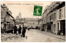 CPA  LAGUIOLE , Place De La Patte D´Oie - Laguiole