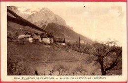 CPA 74  Environs De FAVERGES MONTMIN Au Col De La Forclaz - Faverges