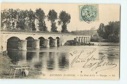 Les Ponts De Cé : Paysage. Dos Simple. 2 Scans. Edition LL - Les Ponts De Ce