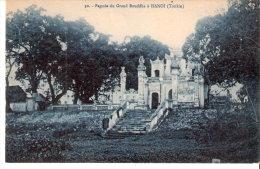 Hanoï (Tonkin-Viêt-Nam)-1926-Pagode Du Grand Bouddha-Texte Intéressant (voir Scan) - Vietnam