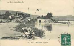 Août13c 312 : Pont-à-Mousson  -  Canal - Pont A Mousson