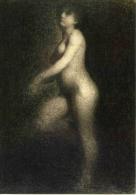 Seurat: Nu (c.1880) - Tekeningen