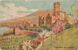 Allemagne -ref A696- Lahneck - Sur Le Rhin - Edite Par Chicoree Boulangere Fabricant A Cambrai - - Lahnstein