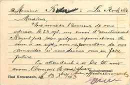 Allemagne -ref A690- Gebr Friess -bad Kreuznach - Carte Bon Etat - - Lettres & Documents
