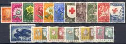 Olanda 1953 Annata Completa Commemorativi / Complete Year Commemoratives **/MNH VF - 1949-1980 (Juliana)