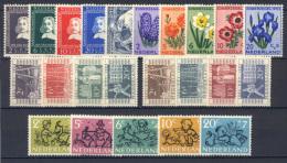 Olanda 1952 Annata Completa / Complete Year **/MNH VF - Period 1949-1980 (Juliana)