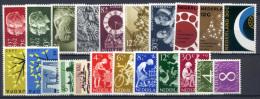 Olanda 1962 Annata Completa / Complete Year **/MNH VF - Period 1949-1980 (Juliana)