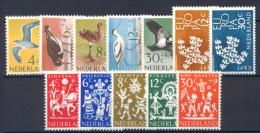 Olanda 1961 Annata Completa / Complete Year **/MNH VF - Period 1949-1980 (Juliana)