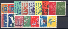 Olanda 1959 Annata Completa / Complete Year **/MNH VF - Period 1949-1980 (Juliana)