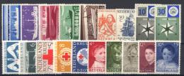 Olanda 1957 Annata Completa / Complete Year **/MNH VF - Period 1949-1980 (Juliana)