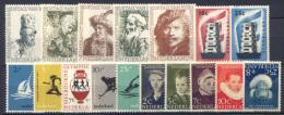 Olanda 1956 Annata Completa / Complete Year **/MNH VF - Period 1949-1980 (Juliana)