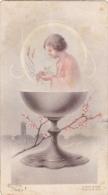 Souvenir De Communion Solennelle  Claudine Brasseur  Havré  Le 19 Mai 1946 - Imágenes Religiosas