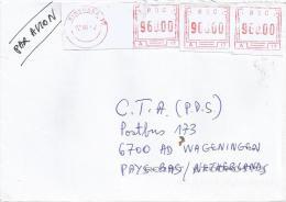 DR Congo RDC 2002 Kinshasa 11 FRAMA A17 On Label Cover - Democratische Republiek Congo (1997 - ...)