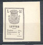 TAXE OFFICE LORIN-MAURY N� 5 ( r�imprim�s ) NEUF(*)