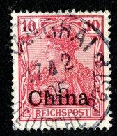 (1870)  China 1901  Mi.17  (o)   Catalogue  € 1.50 - Offices: China