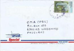 DR Congo RDC Kinshasa 1 Code Letter A Pangolin Cover - Democratische Republiek Congo (1997 - ...)