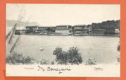 HB307, Varignano, Spezia, Précurseur, Circulée 1903 - La Spezia