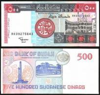 SUDAN 500 Dinars 1998 UNC P 58 B - Soudan