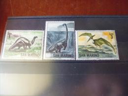 TIMBRE DE SAINT MARIN.   YVERT N° 645.647** - Unused Stamps