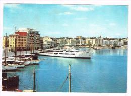 Y975 Anzio (Roma) - Il Porto - Navi Ships Bateaux / Viaggiata 1965 - Italia
