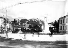 15 - ALPES-MARITIMES - MENTON - Jardin De La Ville Et Monument De L'Annexion - Plaques De Verre
