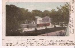 GRUSS AUS DUSSELDORF 287 RATINGER THOR MIT HALTESTELLE DER KLEINBAHN DUSSELDORF - KREFELD 1899 - Duesseldorf