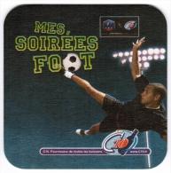 SOUS-BOCK MES SOIREES FOOT FFF C10 FOURNISSEUR DE TOUTES LES BOISSONS - Sous-bocks