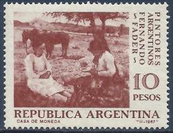 "ARGENTINA - FERNANDO FADER (1882-1935), ARGENTINE PAINTER: ""LA MAZZAMORRA"" 1967 - MNH - Arte"