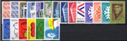 Olanda 1969 Annata Quasi Completa / Almost Complete Year **/MNH VF - Period 1949-1980 (Juliana)