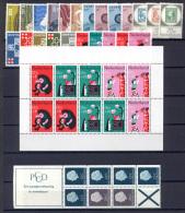 Olanda 1967 Annata Completa / Complete Year **/MNH VF - Period 1949-1980 (Juliana)