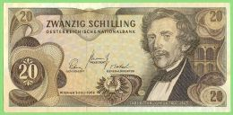 AUSTRIA 20 Schilling 1967 Crisp XF Pick #142 - Autriche