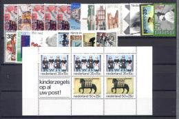 Olanda 1975 Annata Completa / Complete Year **/MNH VF - Period 1949-1980 (Juliana)